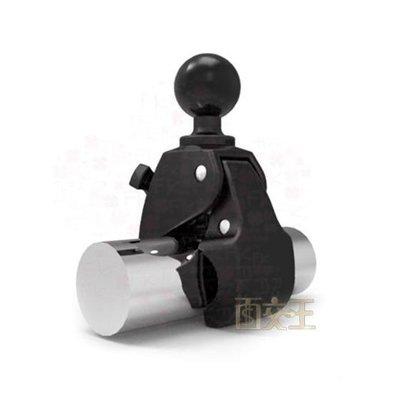 【RAM MOUNTS】1.5吋球-萬用M號Tough-Claw固定夾爪 行車記錄器/相機 機車支架 RAP-404U