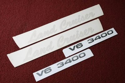 Toyota Land Cruiser/Prado Body Sticker , 車身貼紙