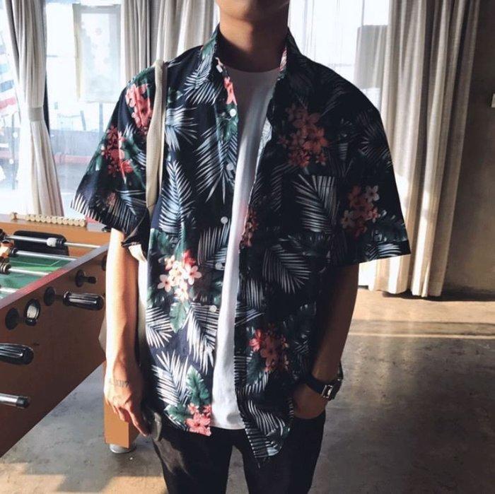 【NoComment】換季特價 春夏必備的合身滿版印花襯衫 兩色 ZARA Supreme