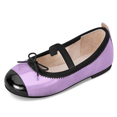 【愛寶貝】 澳洲Bloch 蝴蝶結芭蕾舞鞋(小童)_BT418M_LAV