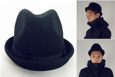 Myplace.com 英國紳士、毛呢翻邊【紳士帽】