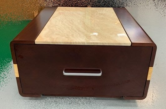 台中二手家具買賣 推薦 西屯樂居中古傢俱館 YS902AH*全新大理石小茶几 客廳沙發桌*矮桌 泡茶桌 餐桌 書桌電腦桌