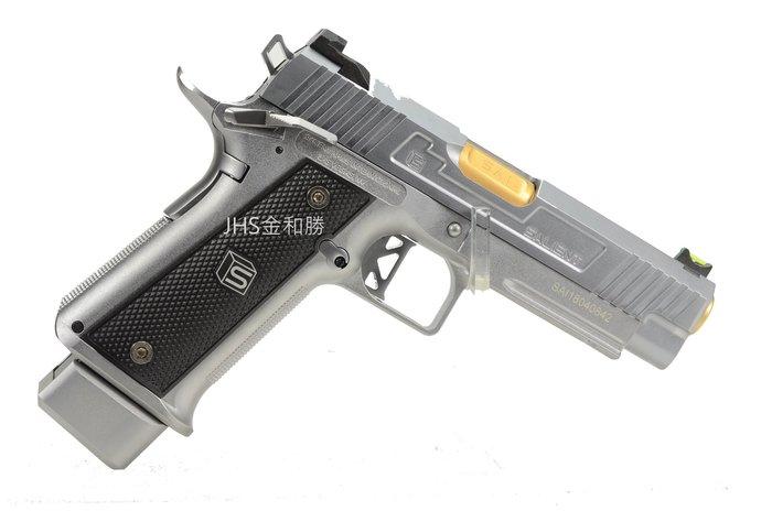 JHS((金和勝 槍店))免運費 WE SA-DS0201 HI-CAPA 4.3-SAI銀 瓦斯手槍 4847