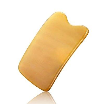 牛角刮痧板面部臉部美容院專用刮痧板牛角全身通用頸部刮痧板套裝
