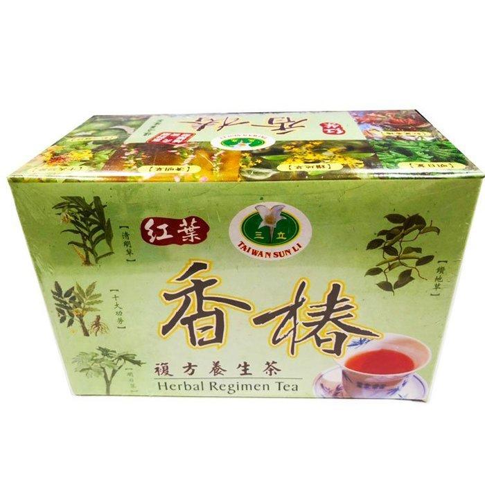 三立 紅葉香椿複方養生茶 30包入/盒 養身茶包 香椿茶【全健健康生活館】