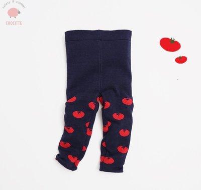 【Mr. Soar】**清倉** C139 冬季新款 韓國style童裝女童小番茄雙層加厚毛線褲內搭褲打底褲 現貨