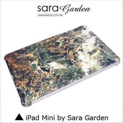 iPad Mini 1 2 3 4 客製化 保護殼 大理石 冰晶 紋路【G338】