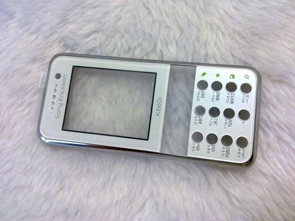 『皇家昌庫』SonyEricsson K660I 原廠外殼 K660I 前蓋 K660I 前殼 白綠色 黑紅色 現貨