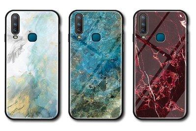 【無殼取代】VIVO Y17 V11i V11 V15 V15pro Y91 Y95  玻璃殼 大理石紋 手機殼