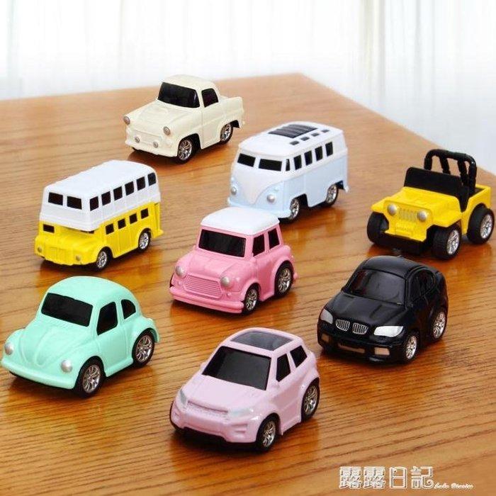 回力車合金小汽車玩具男孩女孩1-2-3歲慣性寶寶兒童玩具車套裝