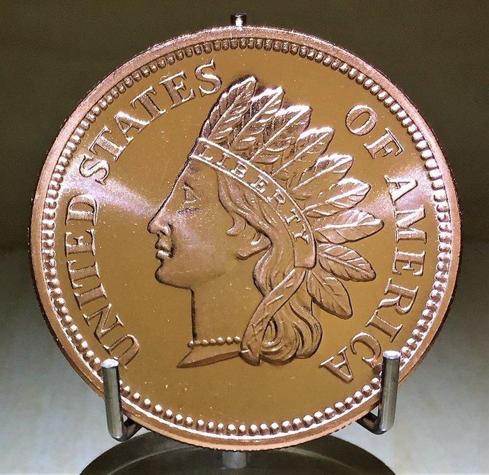 Indian Head Cent 印地安人頭純銅幣 (1 oz)