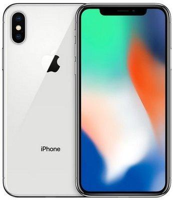 全新未拆 APPLE iPhone X 64G 銀色 5.8吋 台灣公司貨 保固1年