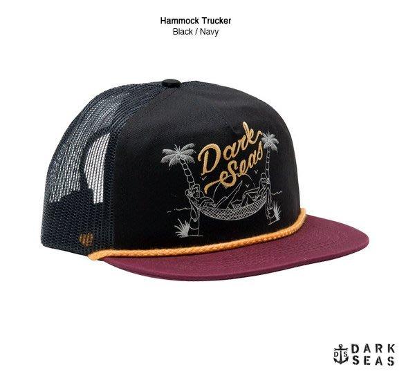 GOODFORIT / 美國品牌Dark Seas(Loser Machine)復古仕女刺青電繡帽款/紅、綠