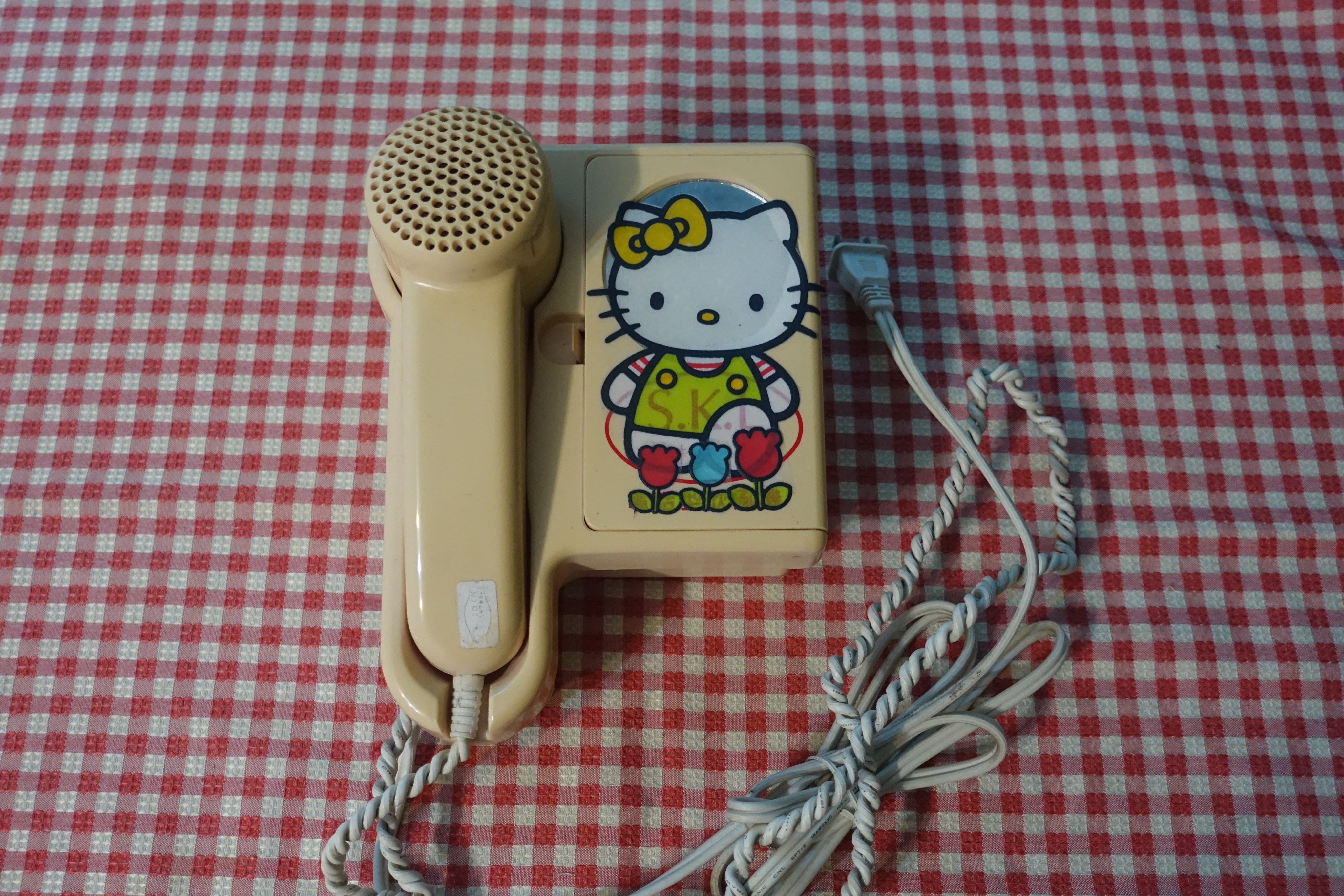 [C.M.平價精品館]SKL擺掛兩用附置物盒電話式吹風機  內含吹風機可卸式吹嘴