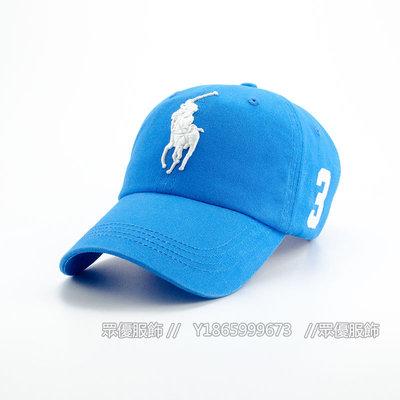 【眾優服飾】2020年新款外貿 保羅POLO大馬標軟頂3D刺繡帽子男女戶外運動旅遊防曬遮陽棒球帽子 休閒帽