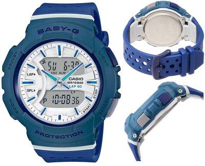 日本正版 CASIO 卡西歐 Baby-G FOR RUNNING BGA-240-2A2JF 女錶 手錶 日本代購