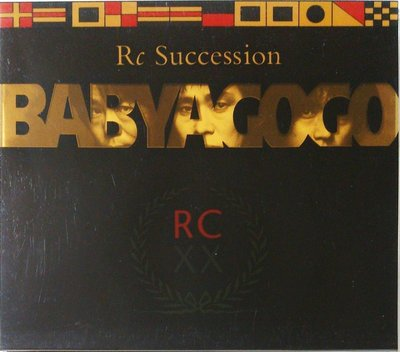RC Succession - Baby A Go Go 初回特典盤 無IFPI 二手日版