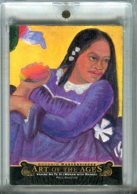 2015 UD Goodwin Art Of Ages Paul Gauguin Vahine No Te Vi (Woman with Mango)