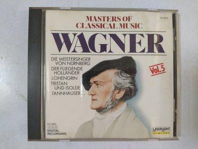 昀嫣音樂(CD24)  MASTERS OF CLASSICAL MUSIC VOL.5 美國壓片 1988年 片況如圖