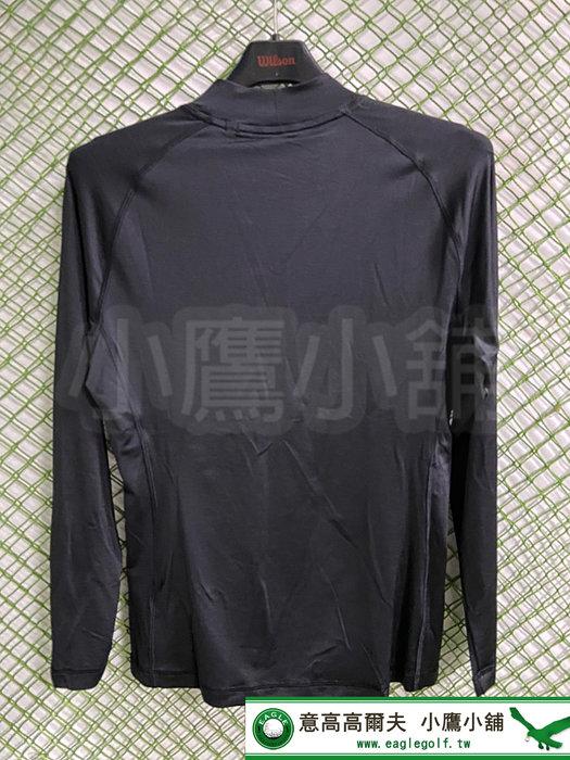 [小鷹小舖] PUMA GOLF 59759801 高爾夫 男仕 長袖上衣 素色 彈性 保暖 防紫外線 吸濕排汗