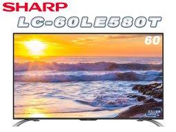 《鴻韻音響影音生活館》SHARP LC-60U33T 60V液晶電視