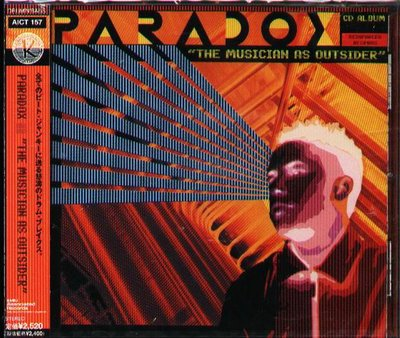 K - PARADOX - The Musician As Outsider - 日版 - NEW