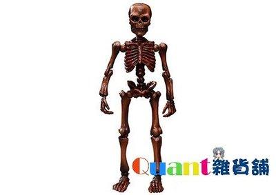 ∮Quant雜貨舖∮┌日本盒玩┐RE-MENT 骷髏 Pose Skeleton 療癒骷髏人 大人 03 #08 古木色