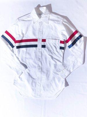 THOM BROWNE Classic long sleeve shirt. 經典 長袖 襯衫