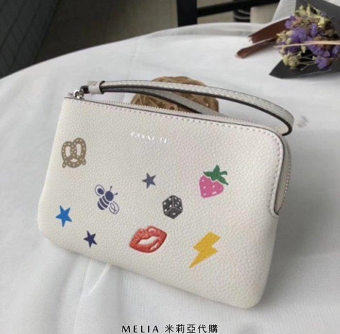 Melia 米莉亞代購 COACH 2018年新款 春季新款 手拿包 零錢包 衝評價 只要$780~~