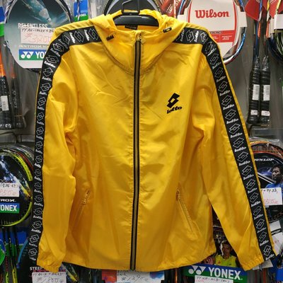 文瑞體育(自取可刷國旅卡)樂得 LOTTO 流行串標 防風 潑水 風衣 保溫 收納 外套 口袋衣 剩 黑 黃 2色 可選