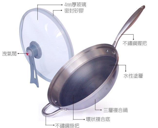 不鏽鋼氣懸浮三層精鋼鍋