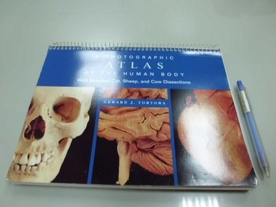 6980銤:A5-5ab☆2000年出版『A Photographic Atlas of the Human Body』 嘉義縣