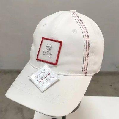 【折扣商品】MARK&LONA高爾夫男女情侶款球帽 有頂防曬球帽韓國原單高爾夫球帽