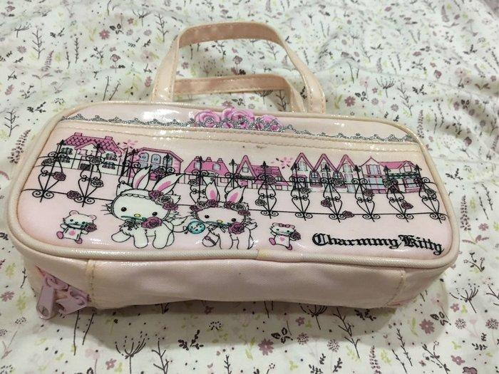 。☆二手☆。sanrio正品Charmmy Kitty化妝包