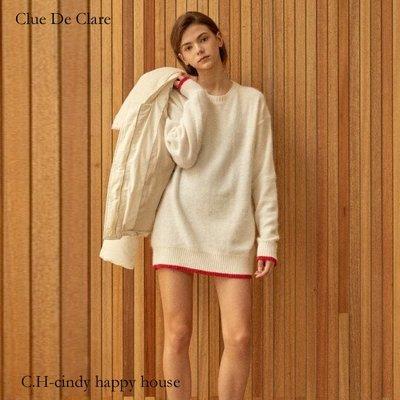C.H.-cindy happy house韓國Clue De Clare品牌韓製羊毛80%  洋裝191027-8代購