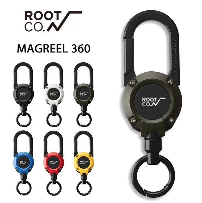《FOS》日本 ROOT CO 360度 旋轉 登山扣環 防丟失 手機吊環 彈性伸縮捲軸 鑰匙扣 鑰匙圈 熱銷 新款