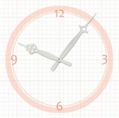【鐘點站】 J140106S SKP壓針機芯 / 分針14公分 時針10.6公分 / DIY 時鐘 掛鐘 鐘針