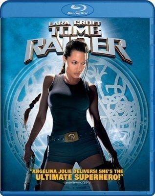 BD 全新美版【古墓奇兵】【Lara Croft: Tomb Raider】Blu-ray 藍光 安潔莉娜裘莉