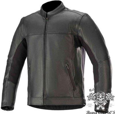 ♛大鬍子俱樂部♛ Alpinestars ® Topanga 美式 經典 復古 騎士 水牛皮 皮衣 防摔衣 黑色