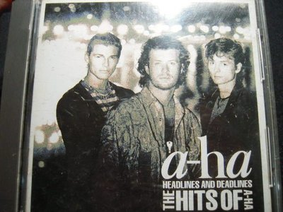 ※布箱子※二手原版CD~ 【HEADLINES AND DEADLINES THITS OF A-HA】