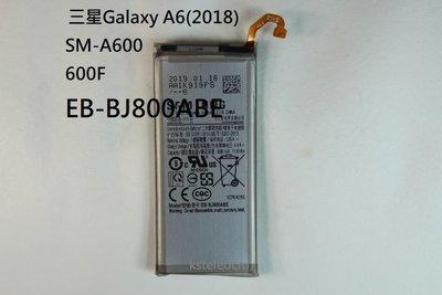 適用於 三星Galaxy A6(2018) SM-A600 A600F EB-BJ800ABE手機電池