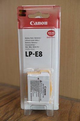 【日產旗艦】CANON LP-E8 LPE8 原廠電池 電池 公司貨 適用 550D 600D 650D 700D