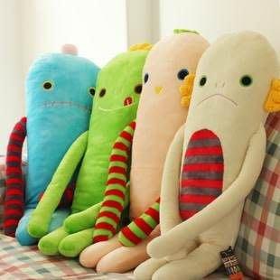 愛德拉 可愛創意毛絨玩具 長條抱枕 創意抱枕   大隻的喔!!!!