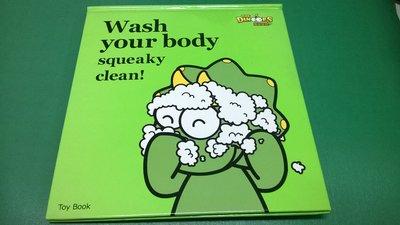 大熊-酷龍寶貝 Basic Book Wash your boody squeaky clean!   閣林 -15ㄅ