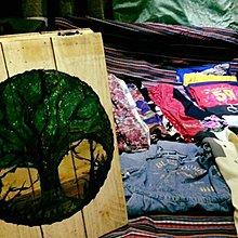 佳源木材 木作招牌立牌店面展示圖畫輸出相片客製油畫手工繪圖繪製木作夜市擺攤開店店面