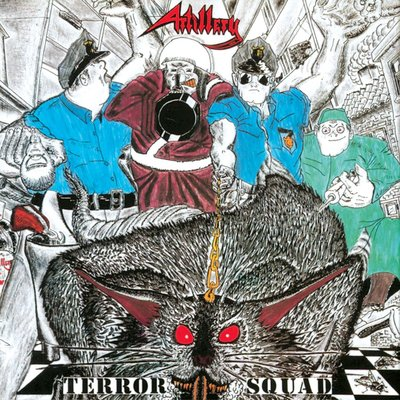 【搖滾帝國】ARTILLERY / Terror Squad (1987)