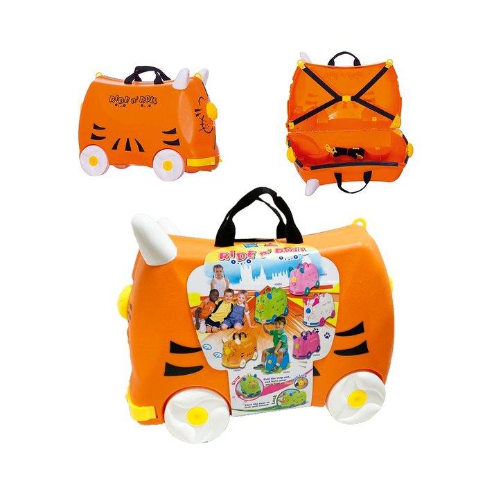棒棒虎多功能兒童行李箱/滑行車/拉桿箱書包