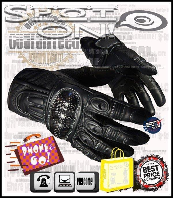 Spot ON - JSG02 真皮 CARBON 手套*1/3 護挽保護! 我最便宜! ZEUS SBK 美國 跩哥