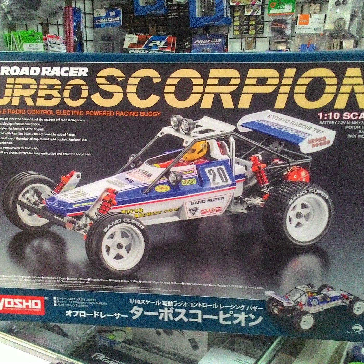 Kyosho 30616 1:10 Turbo Scorpion Kit RC Buggy Electric Powered