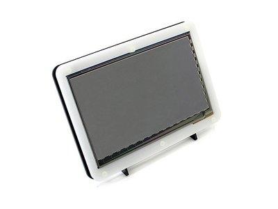 【莓亞科技】樹莓派7吋 1024×600 HDMI LCD (C)電容式觸控螢幕( 附外殼)(含稅現貨NT$1658)